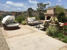 Piękny Plenerowy patio Obraz Royalty Free