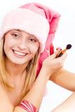 piękny pomagier Santa Fotografia Royalty Free