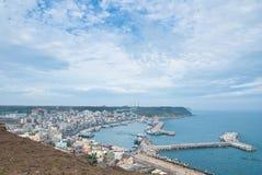 piękny portowy widok Zdjęcie Royalty Free