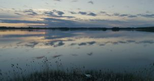Pi?kny powietrzny wideo Katrineholm, Szwecja, Scandinavia zbiory