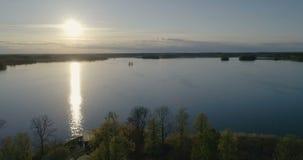 Pi?kny powietrzny wideo Katrineholm, Szwecja, Scandinavia zdjęcie wideo