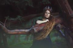 Piękny princess w ogródzie Obraz Stock