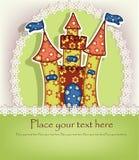 Piękny pstrobarwny kasztel Obrazy Royalty Free