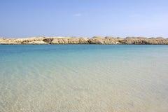 piękny pustynny seascape Obrazy Stock