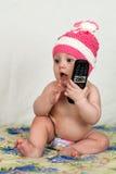 Piękny radosny dziecko Zdjęcie Stock