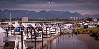 Piękny Richmond teren BC Kanada Zdjęcie Royalty Free