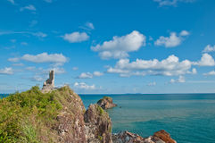 piękny rockowy denny Thailand Obraz Stock