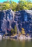 Piękny rockowy quary obraz royalty free