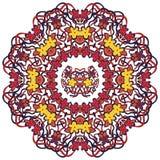 Piękny rocznika ornament kartka z pozdrowieniami Zdjęcie Royalty Free