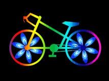 Piękny rower ilustracji