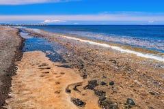 piękny seacoast Obrazy Royalty Free