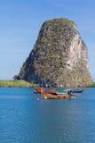 Piękny seascape niewidziany Tajlandia Fotografia Royalty Free