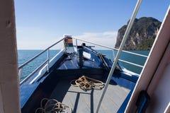 Piękny seascape niewidziany Tajlandia Zdjęcia Royalty Free