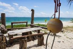 Piękny seascape niewidziany Tajlandia Fotografia Stock