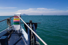 Piękny seascape niewidziany Tajlandia Obrazy Stock