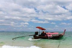 Piękny seascape niewidziany Tajlandia Obraz Stock