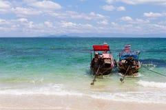 Piękny seascape niewidziany Tajlandia Zdjęcia Stock