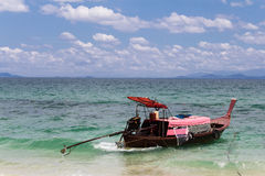 Piękny seascape niewidziany Tajlandia Zdjęcie Royalty Free