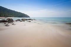 Piękny seascape przy andaman morzem, Tajlandia Obrazy Royalty Free