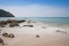 Piękny seascape przy andaman morzem, Tajlandia Obraz Royalty Free