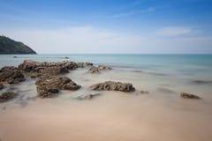 Piękny seascape przy andaman morzem, Tajlandia Zdjęcie Royalty Free