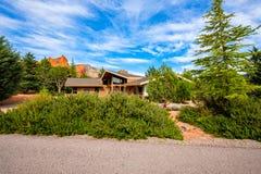 Piękny Sedona dom Zdjęcia Royalty Free