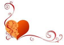 piękny serce Zdjęcia Royalty Free