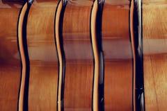 Piękny skóry brzmienie gitary Obraz Stock