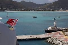 Piękny St. Maarten Fotografia Royalty Free