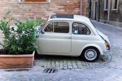 Piękny stary Fiat 500 Zdjęcia Stock