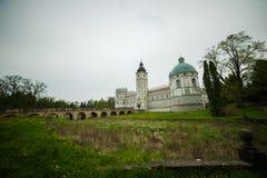 Piękny stary kasztel w Polska Zdjęcie Royalty Free
