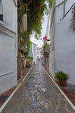 Piękny stary miasto Marbella w Hiszpania Obrazy Stock