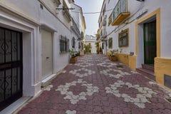 Piękny stary miasto Marbella w Hiszpania Zdjęcia Royalty Free