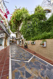 Piękny stary miasto Marbella w Hiszpania Obraz Royalty Free