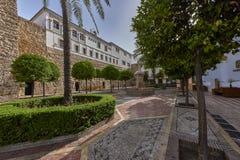 Piękny stary miasto Marbella w Hiszpania Zdjęcie Stock