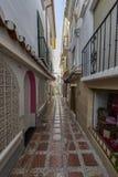 Piękny stary miasto Marbella w Hiszpania Obraz Stock