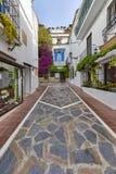 Piękny stary miasto Marbella w Hiszpania, UE Zdjęcia Stock
