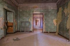 piękny stary zielony pokój Obrazy Royalty Free