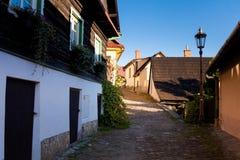 Piękny Stramberk w republika czech Zdjęcia Royalty Free