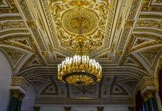 Piękny sufit w eremu Zdjęcie Royalty Free