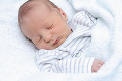 Piękny sypialny dziecko Obrazy Stock