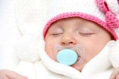 Piękny sypialny dziecko Obraz Royalty Free
