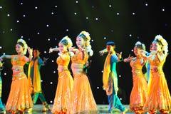 Piękny taniec India Zdjęcie Royalty Free