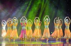 Piękny taniec India Obrazy Stock