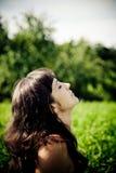 Piękny target105_0_ kobiety Obrazy Stock