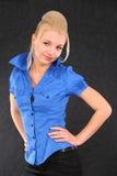 piękny target525_0_ dziewczyny modny Fotografia Stock
