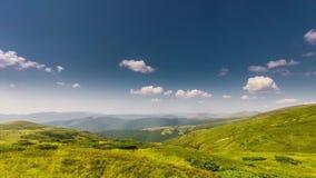 Piękny timelapse góry krajobraz i chmury zdjęcie wideo