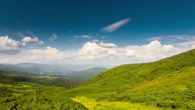Piękny timelapse góry krajobraz i chmury zbiory wideo