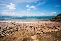 Piękny tropikalny morze Zdjęcie Stock