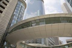 Piękny w centrum Houston Zdjęcia Royalty Free